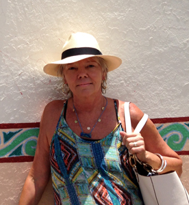 Susan Painter in Mexico