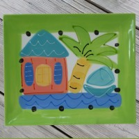 Susan Painter Pottery Rectangular Tray