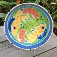 Susan Painter Pottery Pasta Bowl