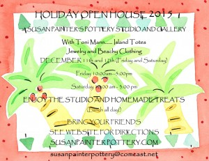 Holiday Open House @ Susan Painter Studio | Loxahatchee | Florida | United States