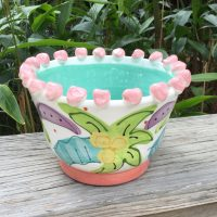 Susan Painter Pottery Tropical Natalie Bowl